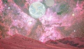 Paesaggio di Marte Immagini Stock