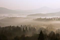 Paesaggio di mattina Fotografie Stock