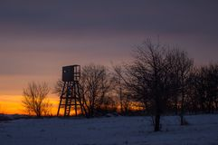 Paesaggio di mattina Fotografia Stock