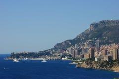 Paesaggio di Monte Carlo Fotografie Stock