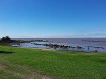 Paesaggio di Montevideo, Uruguay Fotografia Stock