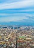 Paesaggio di Napoli Immagini Stock