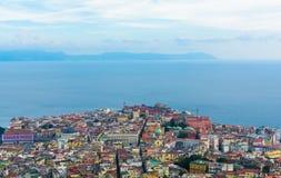 Paesaggio di Napoli Fotografia Stock Libera da Diritti
