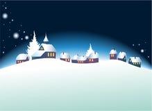 Paesaggio di Natale Fotografia Stock Libera da Diritti