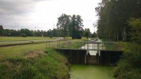 Paesaggio di Neuengamme Fotografia Stock