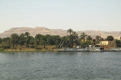 Paesaggio di Nilo Immagine Stock