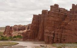 Paesaggio di Northem Argentina fotografia stock libera da diritti