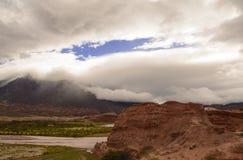 Paesaggio di Northem Argentina fotografie stock libere da diritti