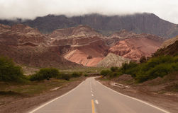 Paesaggio di Northem Argentina fotografia stock