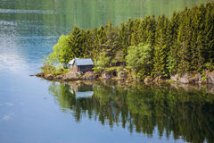 Paesaggio di Norwey Fotografia Stock