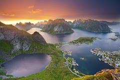 Paesaggio di Norwgian Fotografia Stock Libera da Diritti
