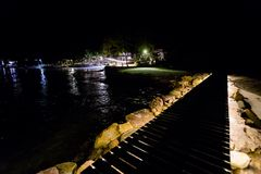 Paesaggio di notte di Koh Kood Fotografia Stock Libera da Diritti