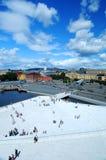 Paesaggio di Oslo Fotografia Stock Libera da Diritti