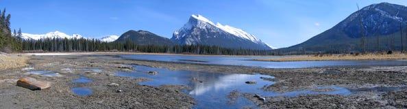 Paesaggio di paesaggio in Banff Immagine Stock Libera da Diritti