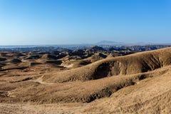Paesaggio di paesaggio lunare di Fantrastic Namibia, Eorngo Immagini Stock