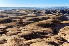 Paesaggio di paesaggio lunare di Fantrastic Namibia, Eorngo Immagine Stock