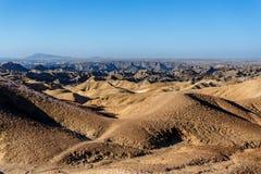 Paesaggio di paesaggio lunare di Fantrastic Namibia, Eorngo Immagini Stock Libere da Diritti