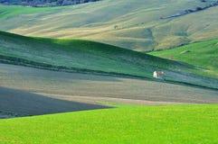 Paesaggio di paese italiano Fotografia Stock