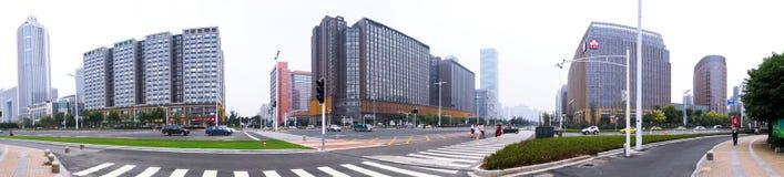 Paesaggio di palazzo multipiano Fotografia Stock