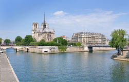 Paesaggio di Parigi Fotografia Stock