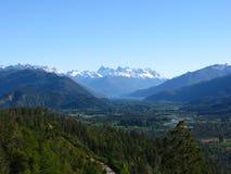 Paesaggio di Patagonia, Argentina fotografia stock