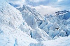 Paesaggio di Patagonia, sud dell'Argentina Immagini Stock Libere da Diritti