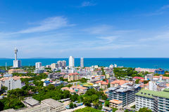 Paesaggio di Pattaya Fotografie Stock