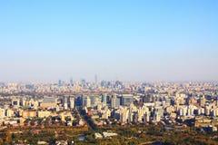 Paesaggio di Pechino Immagini Stock