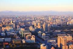 Paesaggio di Pechino Fotografia Stock