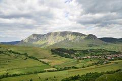 Paesaggio di Piatra Secuiului dalla Romania Fotografia Stock