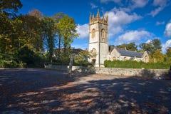 Paesaggio di piccola chiesa Fotografie Stock