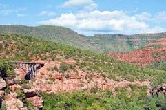 Paesaggio di pietra del sedona, in Arizona Immagini Stock Libere da Diritti