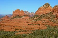 Paesaggio di pietra rosso del sedona, in Arizona Fotografia Stock Libera da Diritti