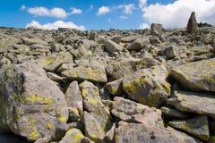 Paesaggio di Pirin della montagna Fotografia Stock