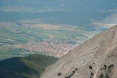 Paesaggio di Pirin della montagna Immagine Stock