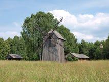 Paesaggio di Polesie ed architettura rurali, Hola, Polonia Immagini Stock Libere da Diritti