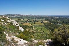 Paesaggio di Provençal Fotografia Stock