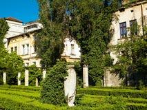 Paesaggio di re Mihai I Park, Bucarest, Romania fotografia stock