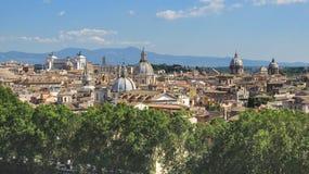 Paesaggio di Roma Fotografie Stock