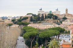 Paesaggio di Roma Fotografia Stock Libera da Diritti