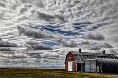 Paesaggio di Saskatchewan Canada Immagine Stock