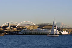 Paesaggio di Seattle Fotografia Stock Libera da Diritti