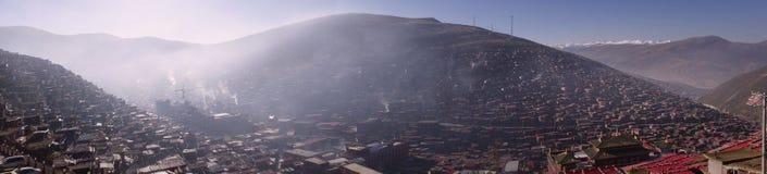 Paesaggio di Sedah in Ganzi, Sichuan, Cina fotografie stock libere da diritti