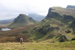Paesaggio di Skye fotografie stock libere da diritti