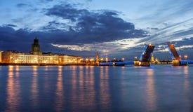 Paesaggio di St Petersburg Fotografia Stock