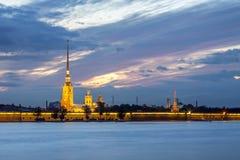 Paesaggio di St Petersburg Immagine Stock