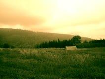 Paesaggio di Sudety Fotografia Stock