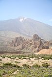 Paesaggio di Teide Fotografia Stock Libera da Diritti