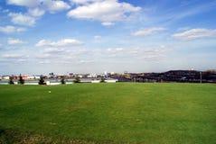 Paesaggio di terreno da golf Fotografia Stock Libera da Diritti