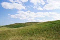 Paesaggio di terreno da golf Fotografia Stock